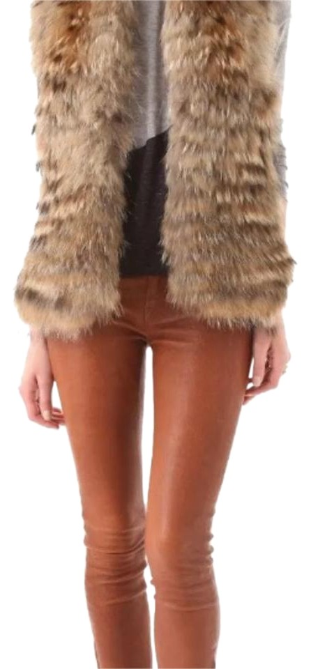 Alice & Olivia Reversible Fur Vest