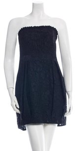 Alice + Olivia Lace Strapless Night Out Date Night Pleated Dress