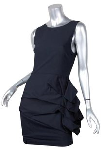 Alice + Olivia Womens Navy Dress