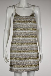 Alice + Olivia Womens Silver Dress