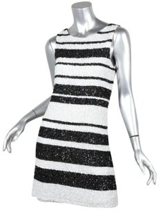 Alice + Olivia short dress Black+White Womens Blackwhite on Tradesy