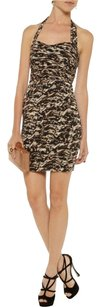 Alice + Olivia Silk Leopard Sexy Date Dress