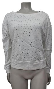 Alice + Olivia Jeweled Dolman Sweatshirt