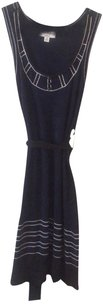 Alice Temperley for Target short dress Midnight Blue Temperly Silver Waist Tie on Tradesy