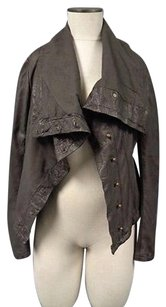 AllSaints All Saints Edgy Dark Brown Jacket
