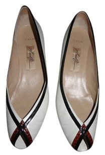 Amalfi Vintage Accessories Heels black and white Pumps