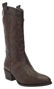 Amanda Gregory Leather Brown Boots