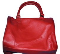 American Apparel Brand New Everday Leather Speedy Leather Leather Leather Speedy Redlouis Vuitton Tote in Red