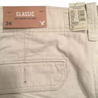 American Eagle Outfitters Cargo Shorts white