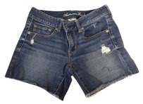 American Eagle Outfitters Cut Off Shorts Dark Jean