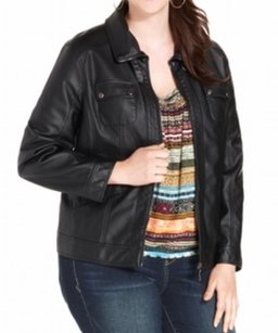 American Rag & Jackets Faux Leather Coat