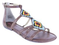 American Rag Good Womens Man Made Nbw brown Sandals