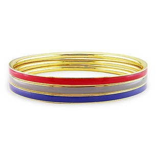 Amour Amour Three-piece Set Multi-colored Enamel Bracelet Bangles 8