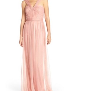 Amsale Rose Amsale Twisted Tulle Gown Dress