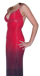 Andretta Donatello Beaded Evening Gown Sexy Dress