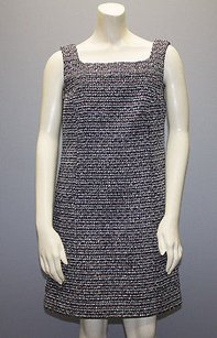 Andrew Gn short dress Multi-Color Gn Black White Tweed Wool Blend Sleeveless Shift Hs1706 on Tradesy