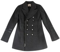 ANINE BING Gray Ne Coat