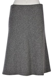 Ann Taylor LOFT Womens Skirt Gray