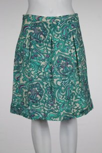 Ann Taylor LOFT Womens Skirt Green