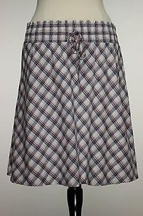 Ann Taylor LOFT Womens Blue Skirt Multi-Color