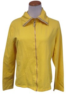 Ann Taylor LOFT Basic Yellow Jacket