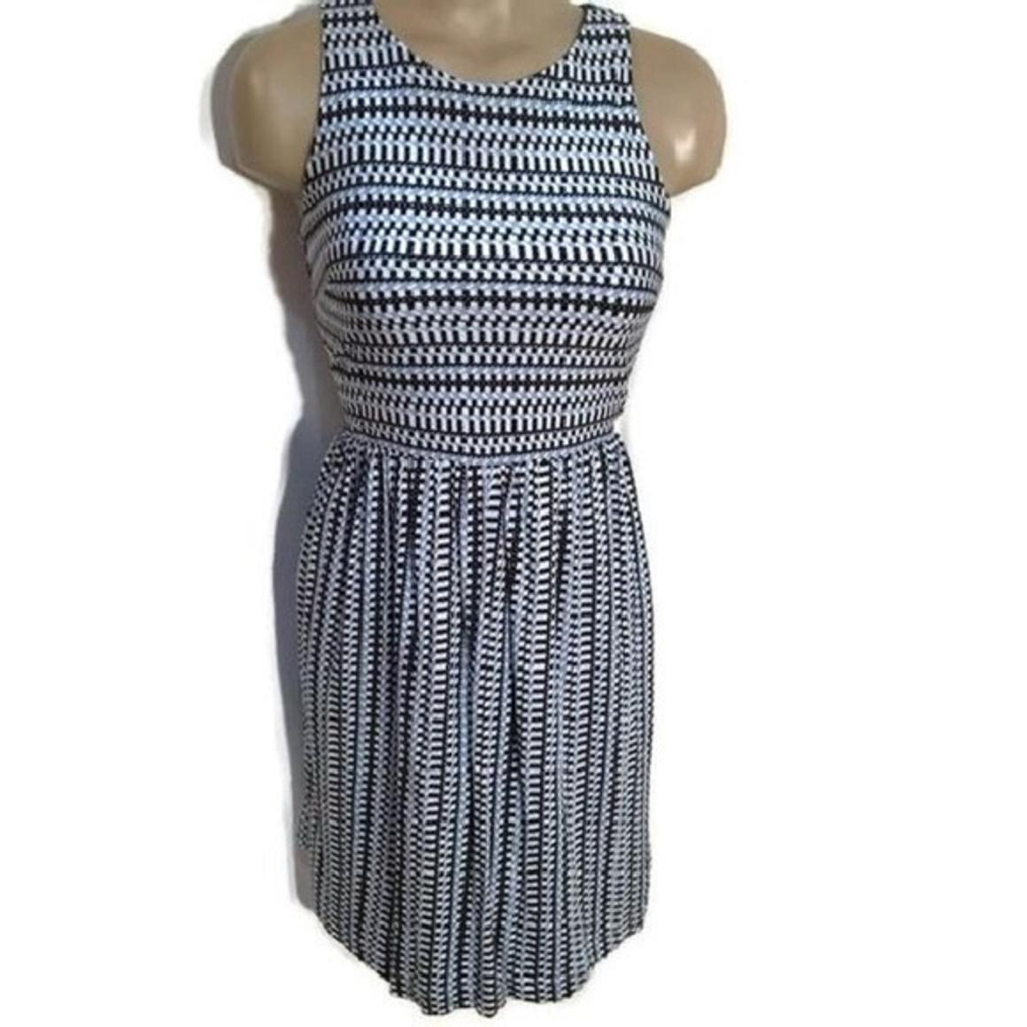 Ann Taylor LOFT Short Dress Blue On Tradesy ...