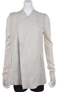 Ann Taylor LOFT Womens Gray Cardigan Speckled Knit Sweater