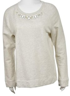 Ann Taylor LOFT Womens Speckled Crewneck Cotton Casual Sweater
