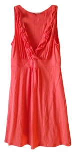 Ann Taylor LOFT short dress Peach on Tradesy