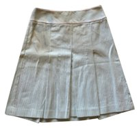 Ann Taylor LOFT Skirt Green white