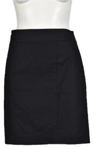 Ann Taylor Womens Pencil Above Knee Career Wtw Skirt Black