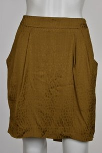 Ann Taylor Womens Skirt Tan