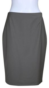Ann Taylor Womens Pencil Med Wool Knee Career Skirt Taupe