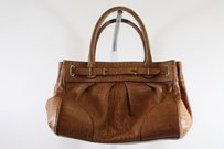 Ann Taylor Womens Satchel in Brown