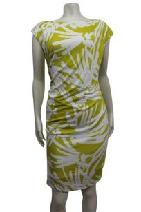 Ann Taylor Summer Palm Print Dress