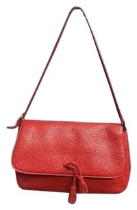 Ann Taylor Tassel Tie Shoulder Bag