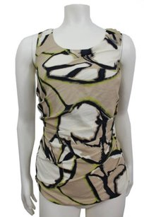 Ann Taylor Taupe Pattern Top Beige
