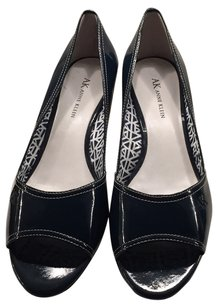 Anne Klein Wedge Navy Wedges