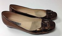 Anne Klein Metallic Bronze Flats