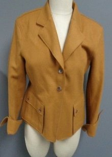 Anne Klein York Colored Camel Jacket