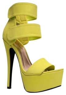Anne Michelle Yellow Sandals