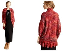 Anthropologie Boucle Cocoon Cardigan Sweater