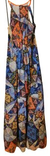 Multi Maxi Dress by Anthropologie Maxi Pattern Print