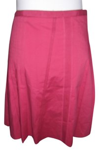 Anthropologie Elevenses Skirt Pink
