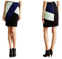 Anthropologie Colorblocked Pencil By Skirt
