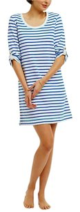 Anthropologie short dress Blue & White Striped Nautical Inspired on Tradesy