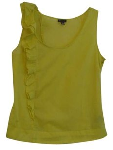 Anthropologie Top Bright Yellow