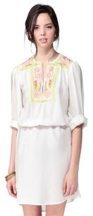 Antik Batik short dress White Pencil Mimi Shirt on Tradesy