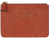 Anya Hindmarch perforated leather pouch