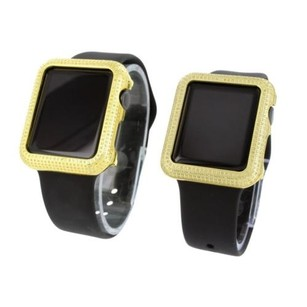 Apple Diamond Apple Watch For Mens Womens Ct Black Sport Band Combo Set Ios Touch
